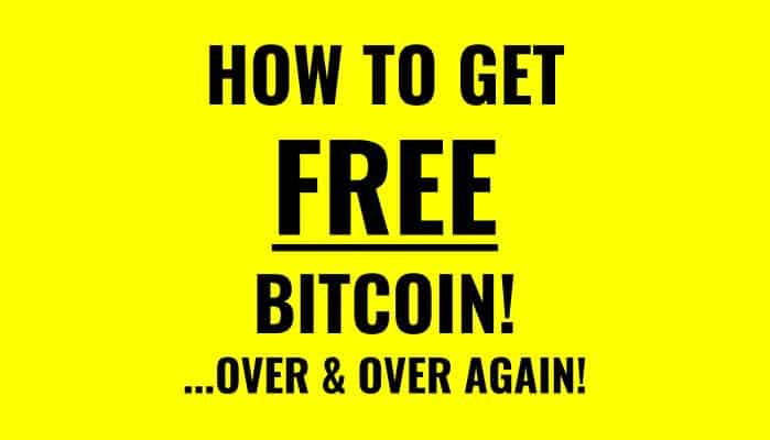 How To Get Free Bitcoin In 2018