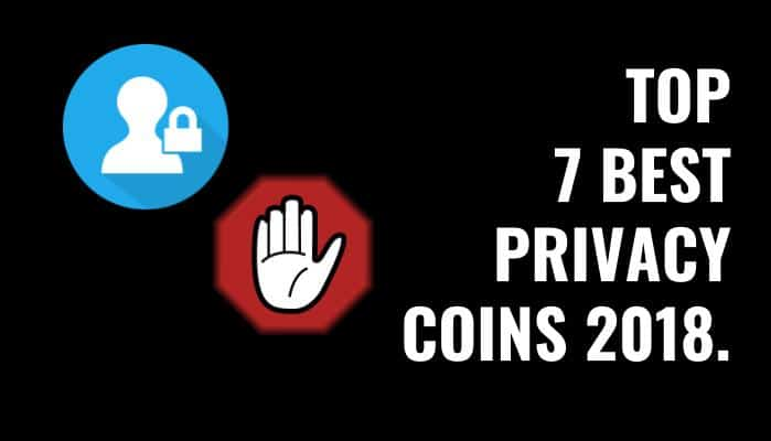best privacy coins 2018