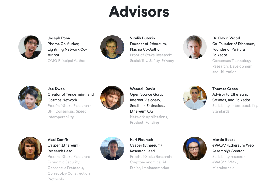 omisego advisory team